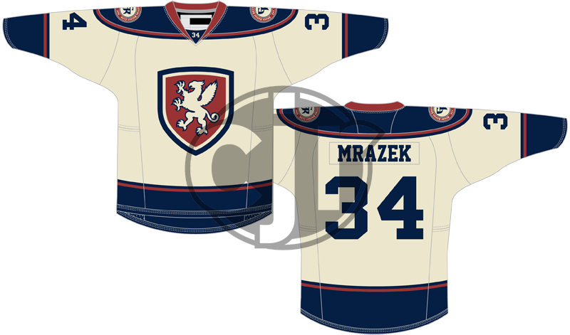 My submitted Griffins concept jersey.