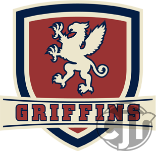 The updated crest logo for my Griffins concept jersey.