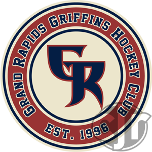 The updated shoulder logo for my Griffins concept jersey.