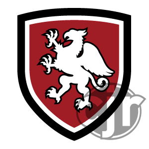 The crest logo for my 2016 Griffins jersey contest submission.
