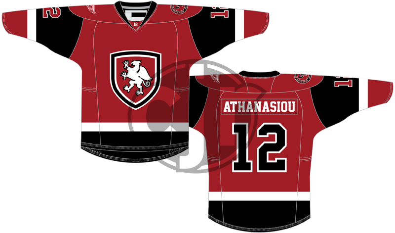 The second version of my concept for the Griffins' 2016 jersey design contest.