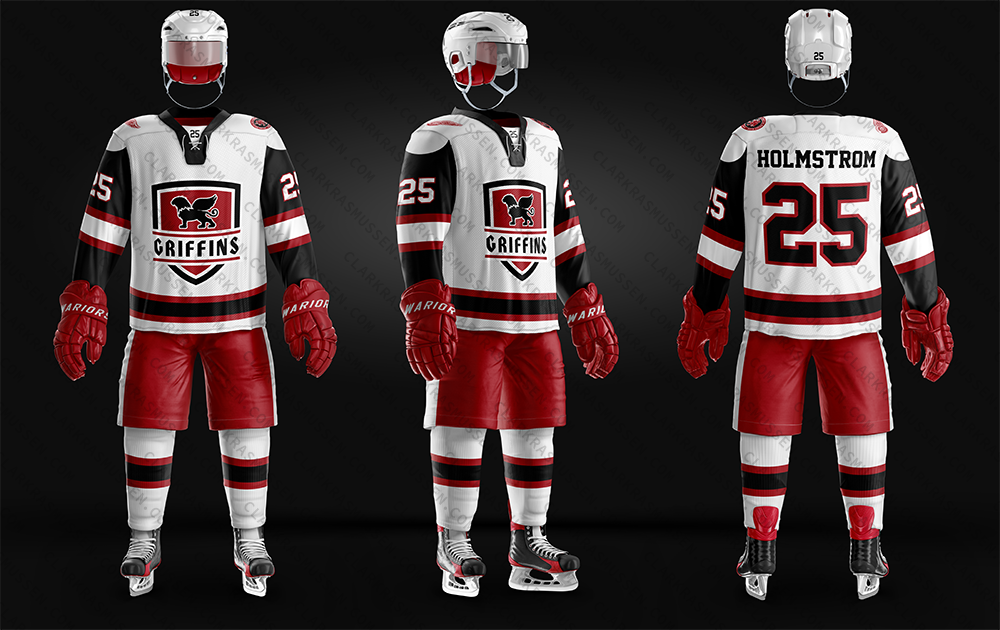 Grand Rapids Griffins Alternate Jersey Concept 2018